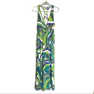 Trina Turk Halter Maxi Dress